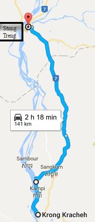 kratie-to-stung-treng-google-maps